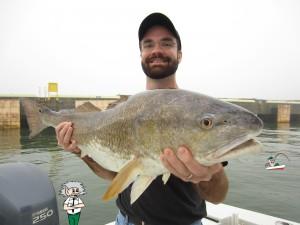 Capt Scott Bull Fish 34 lbs