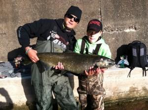 me and my son Alex Oak Orchard NY KS