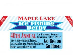 Maple Lake Ice Fishing