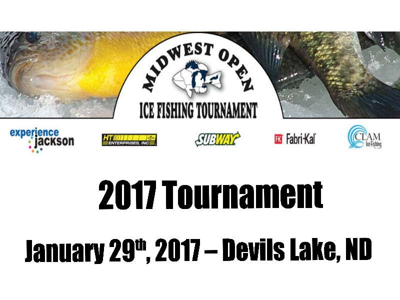Midwest open ice fishing tournament water gremlin for Ice fishing tournament