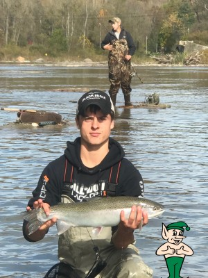 Tyler Kowalski Center Pin Fishing Steelhead