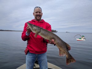 Nick Jim Newton 38 Pike Mille Lacs Nick